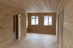 Каркасный дом 8х11,5 СНТ Раздолье 14