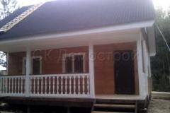 Каркасный дом 8х8 Бойд 10