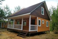 Каркасный дом 8х8 Бойд 4