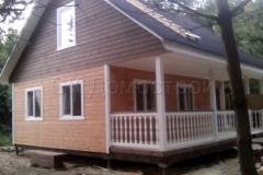Каркасный дом 8х8 Бойд 7
