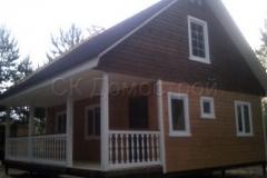 Каркасный дом 8х8 Бойд 9