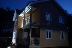 Каркасный дом 8х9 Аксенчиково 3