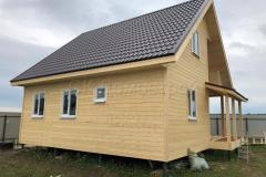 Каркасный дом 8х9 деревня Матчино 3