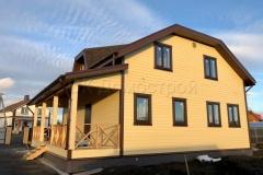 Каркасный дом 9х11 село Губарево 3