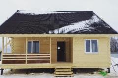 Каркасный дом 9х9,5 Большое Лупаково 3