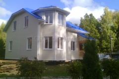 Каркасный дом Фаррел 7х9 Новоселки 1