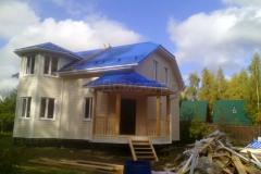 Каркасный дом Фаррел 7х9 Новоселки 6