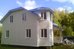 Каркасный дом Фаррел 7х9 Новоселки 8
