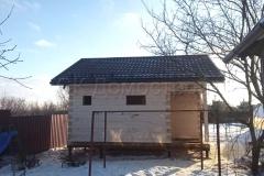 Сруб бани 6х6 деревня Колосово 5