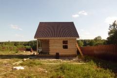 Сруб бани 6х8 Шоша Егорьевск 2
