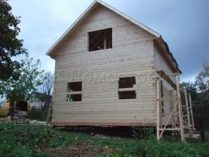 Дом под усадку 6х8 поселок Сиверский