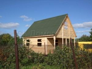 Дом под усадку 6х7,5 поселок Пудость