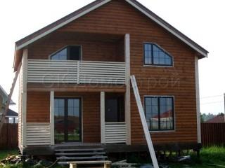 Зимний дом из бруса для круглогодичного проживания