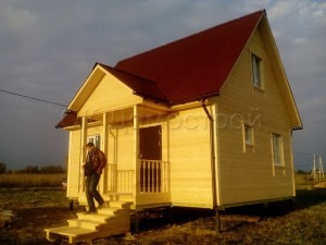 Дачный дом 6х7