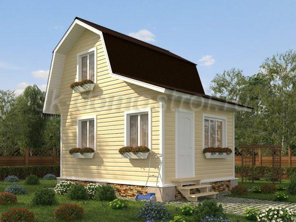 Дом «Гагарин» 4х5,5
