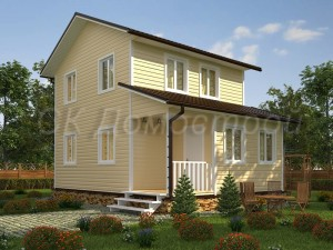 Дом «Александров» 6х8 м