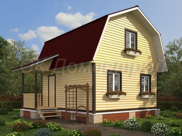 Дом из бруса «Ульяновск»
