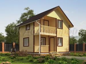 Дом из бруса недорого в СПб