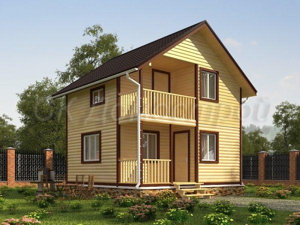 Дом из бруса «Арзамас»