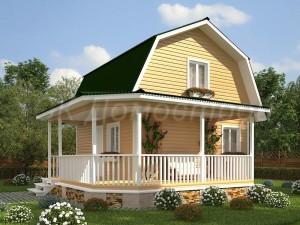 Дом «Калинин» 6х6