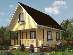 Дом из бруса «Белгород»