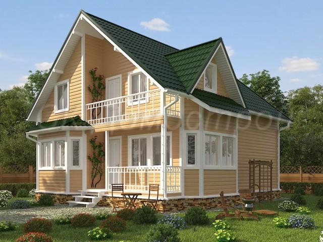 проект дома 8х10 с отличной планировкой