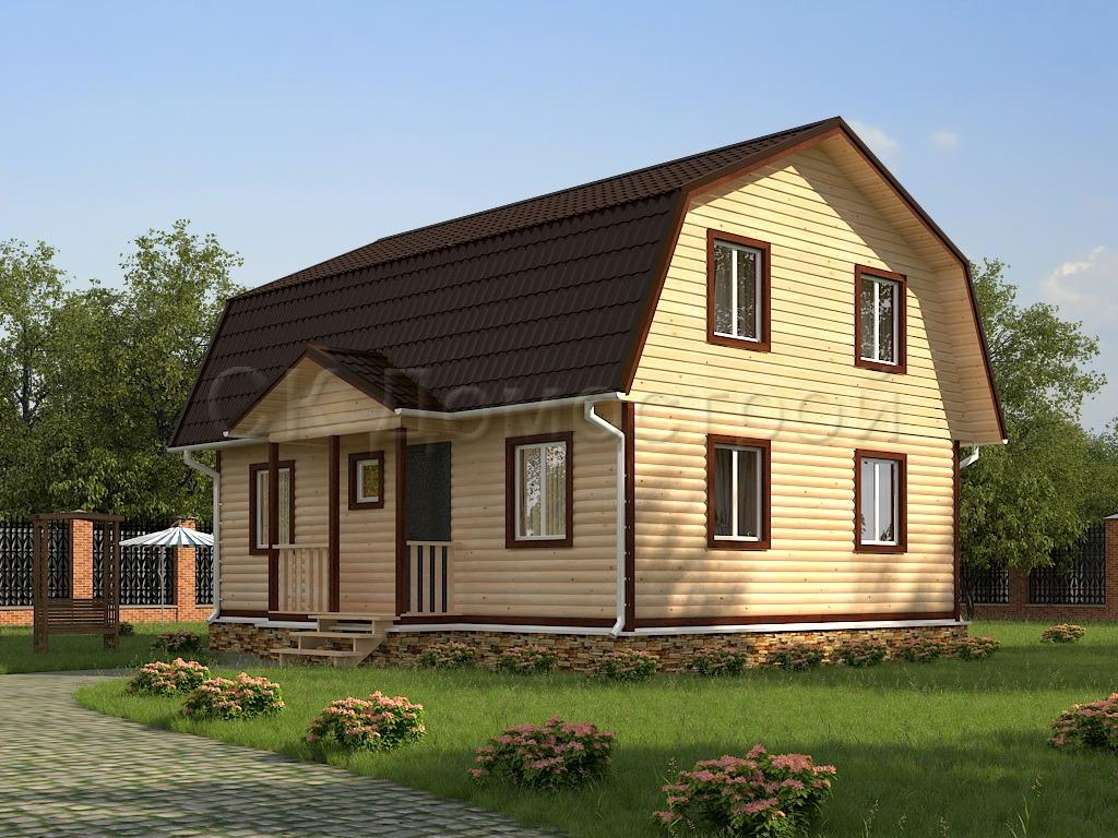 Деревянные дома из бруса под ключ недорого дом из бруса