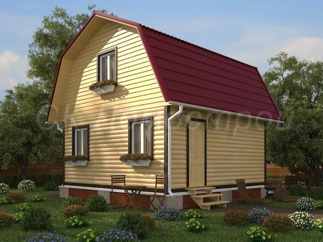 Деревянный дом 6 на 6