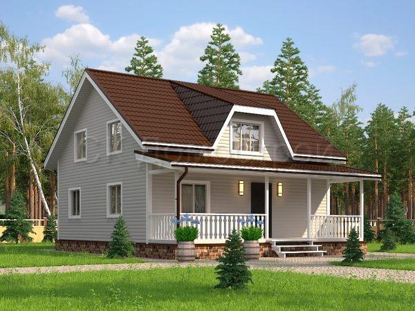 Каркасный дом 9 на 11
