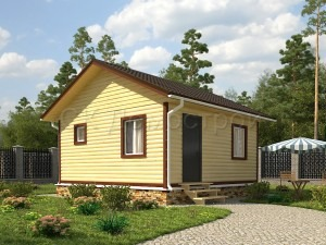 Дом из бруса «Елец»