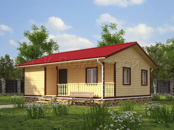Дом из бруса «Калуга»