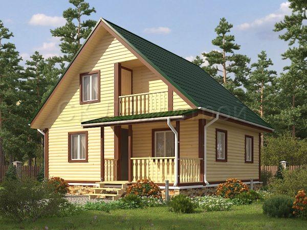 Дом из бруса Касимов