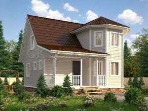 Типовой проект жилого дома