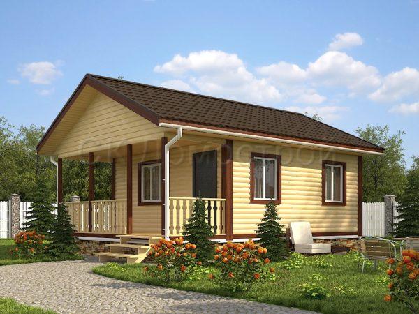 Дом из бруса «Рязань»