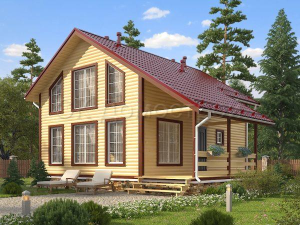Дом из бруса «Воронеж»