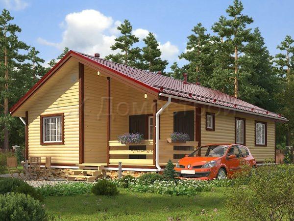 Дом из бруса Череповец
