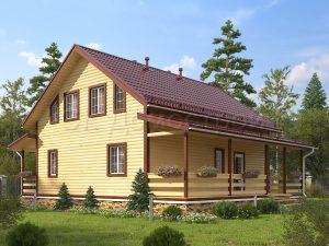 Дом из бруса «Дедовск»