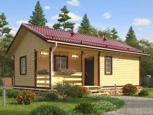 Дом из бруса Котлас