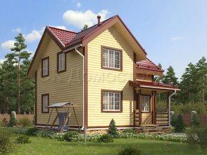 Дом из бруса «Торжок»