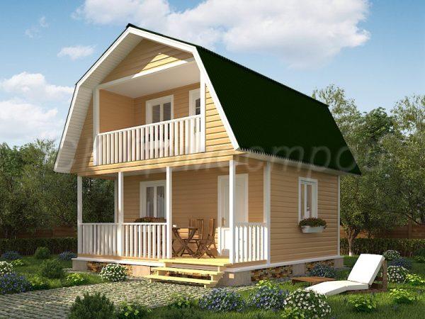 Дом «Григорьев» 6х6