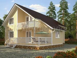 Проект дома 10х13