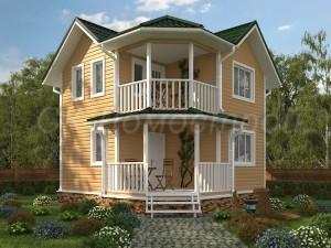 Бесплатные проекты каркасных домов