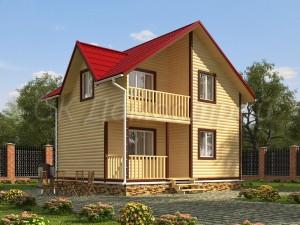 Дом из бруса «Ковров»