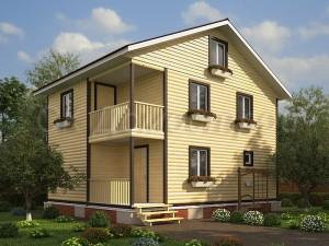 Проект дома 120 кв м