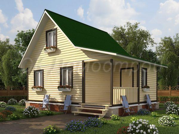 Дом из бруса «Курск»