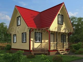 Купить брусовой дом