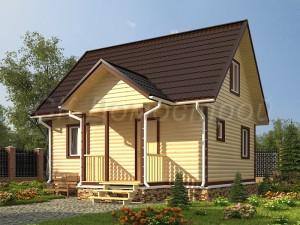 Дом из бруса «Муром»