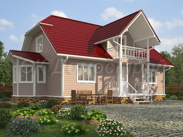 Дом «Евгеньев» 10х13 м