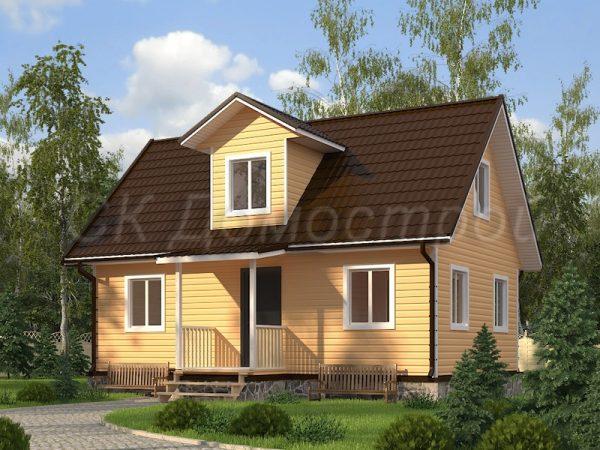 Каркасный дом 6х9 «Кузнецов»
