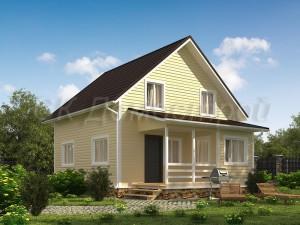 Проект дома 7х11